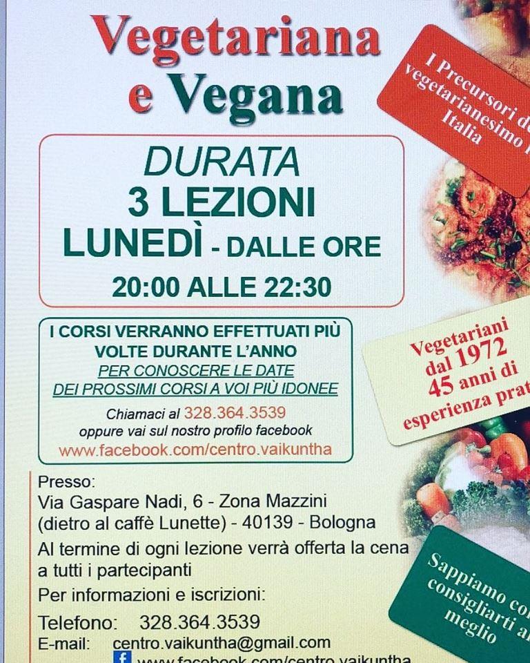 Lezioni di Cucina Vegetariana e Vegana