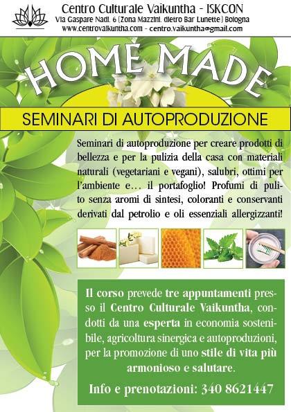 Home-Made: Seminari di Autoproduzione